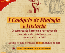 I Colóquio de Filologia e História