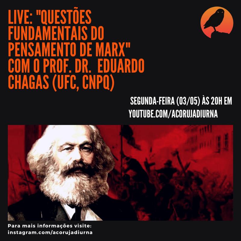 Live Questões fundamentais do pensamento de Marx