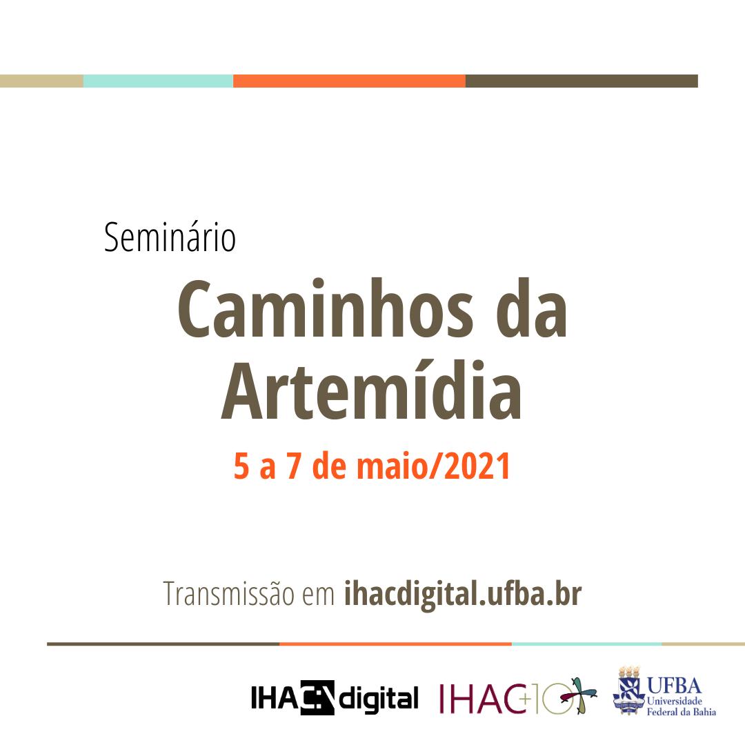 Seminário Caminhos da Artemídia - card